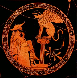 the dramatic irony in oedipus rex by sophocles All throughout the play, oedipus the king, sophocles builds the entire story using dramatic irony despite oedipus's ignorance about who he is, sophocles uses.
